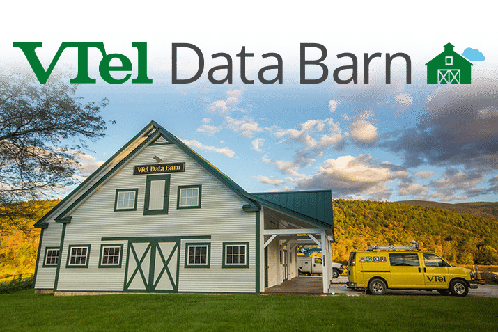 VTel Data Barn in Wallingford, VT