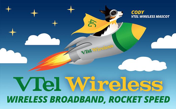 VTel Wireless   Wireless Broadband, Rocket Speed