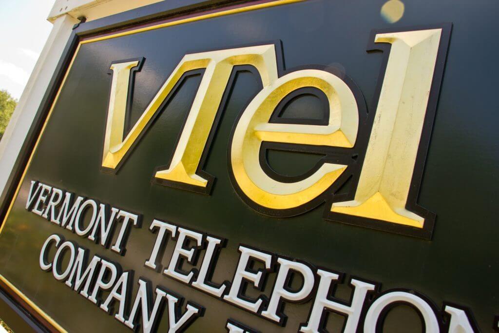 VTEL sign